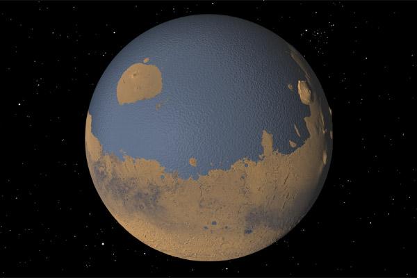 Marte aveva i suoi oceani