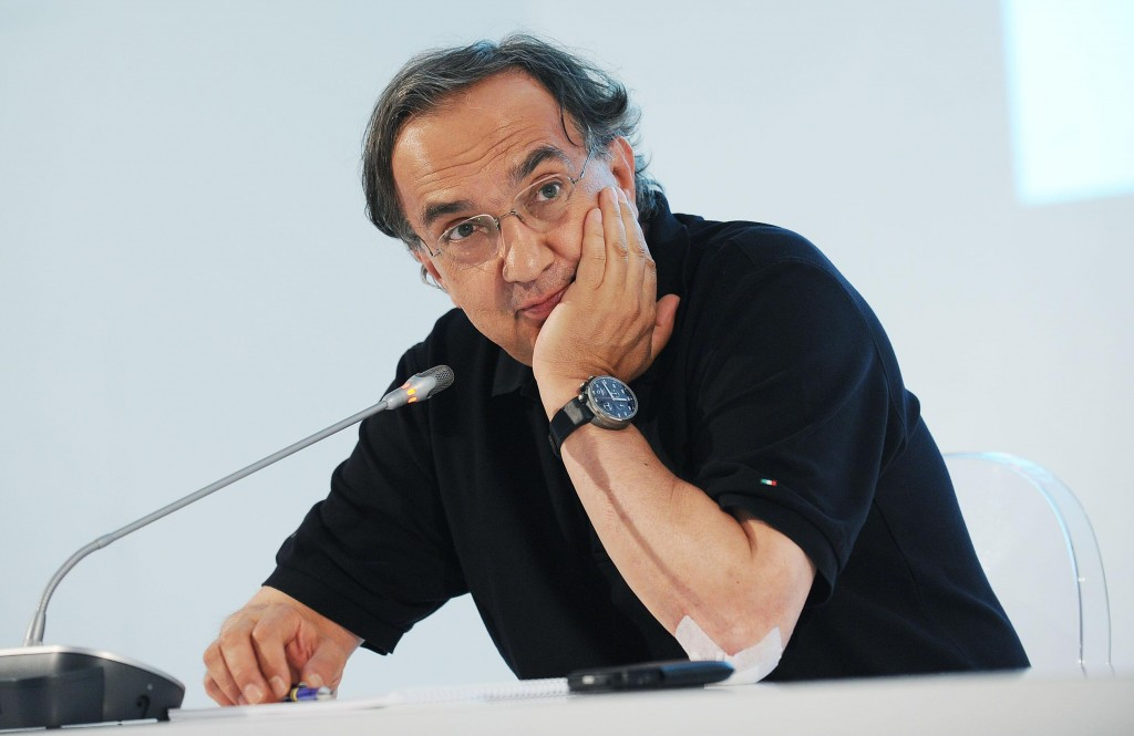 Sergio Marchionne fca self driving car uber amazon