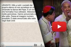 Virus bufala su WhatsApp, la danza del Papa diventa virale