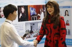 Yangyang, la donna robot che esprime emozioni
