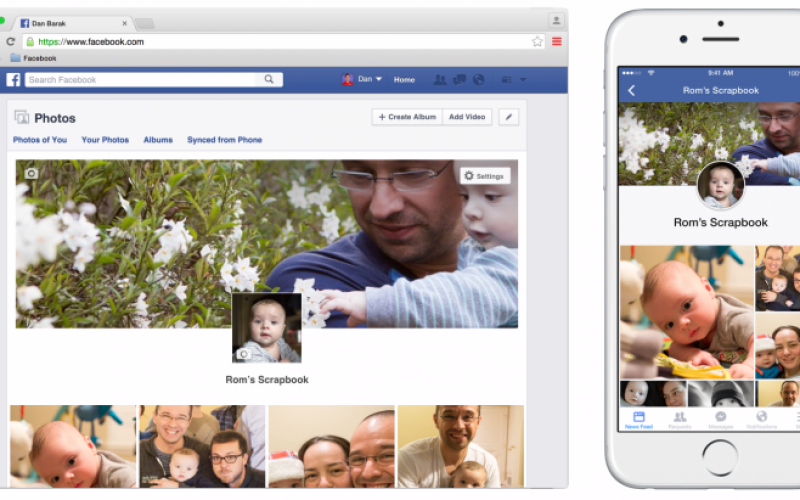 Con Scrapbook anche i bambini arrivano su Facebook