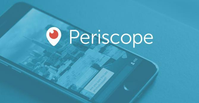 Periscope video in orizzontale