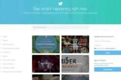 Twitter aggiorna la Home per attirare i non iscritti