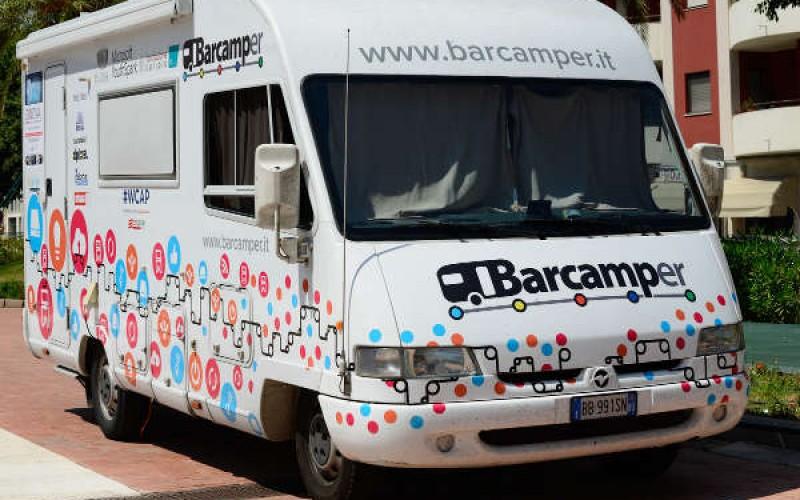 Torna a Smau Bologna il Barcamper di Dpixel per portare le startup in Silicon Valley