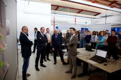 """Luca Zaia visita Sanmarco Informatica: """"600 milioni di euro per le imprese nei prossimi 6 anni"""""""