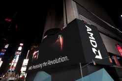 AMD illumina Broadway con il più grande display HD di Times Square