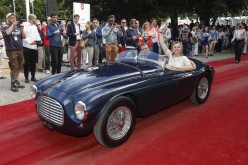 La Ferrari 166 MM conquista la Coppa d'Oro al Concorso d'Eleganza di Villa d'Este