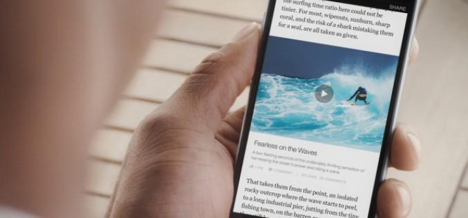 Instant Articles: Facebook è diventato un quotidiano