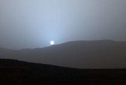 I tramonti su Marte sono blu