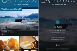 La app di Yelp è ora integrata sul lock screen di HTC One M9
