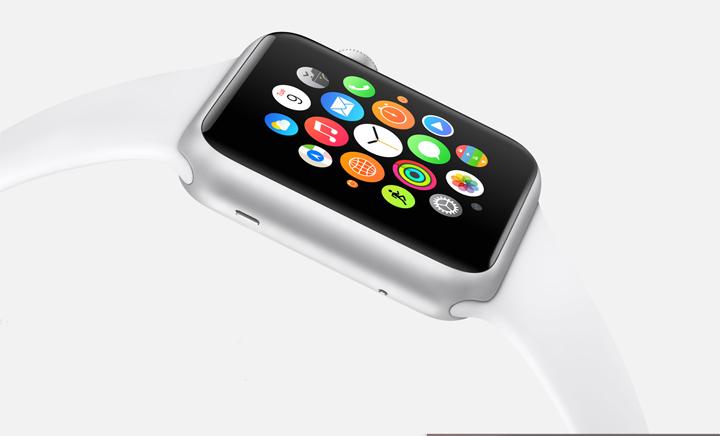 Apple Watch clock face