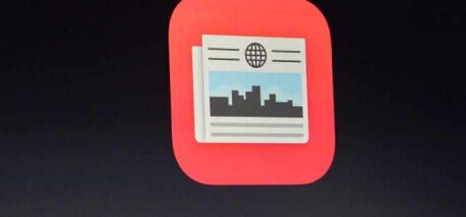 Apple cerca giornalisti per l'aggregatore News