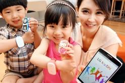 LG KizON, il wearable a misura di bambino e pensato per i genitori
