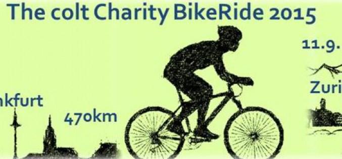 Colt annuncia la gara di beneficenza Charity BikeRide 2015