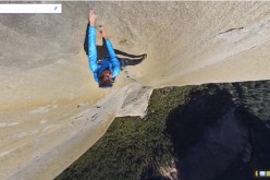 Google Street View scala la parete verticale El Capitan