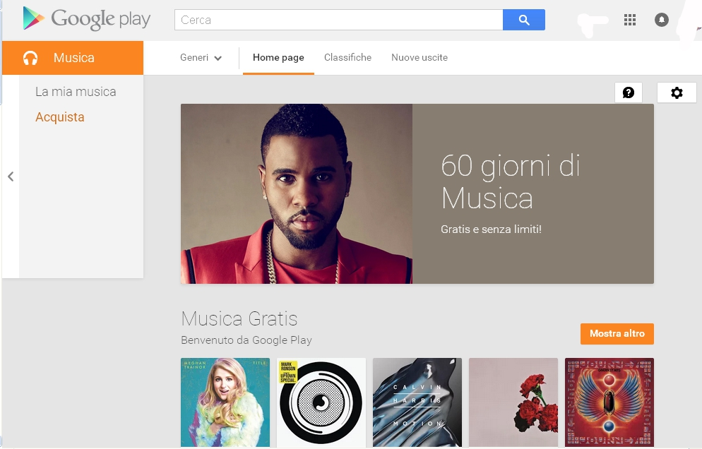 Google Play Music e lo streaming musicale