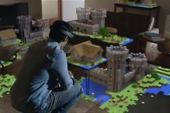Gli HoloLens portano la realtà aumentata in Minecraft