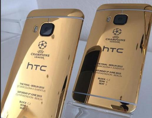 HTC usa iPhone per pubblicizzare One M9 Gold