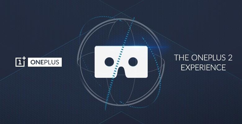 oneplus 2 presentazione con la realtà virtuale