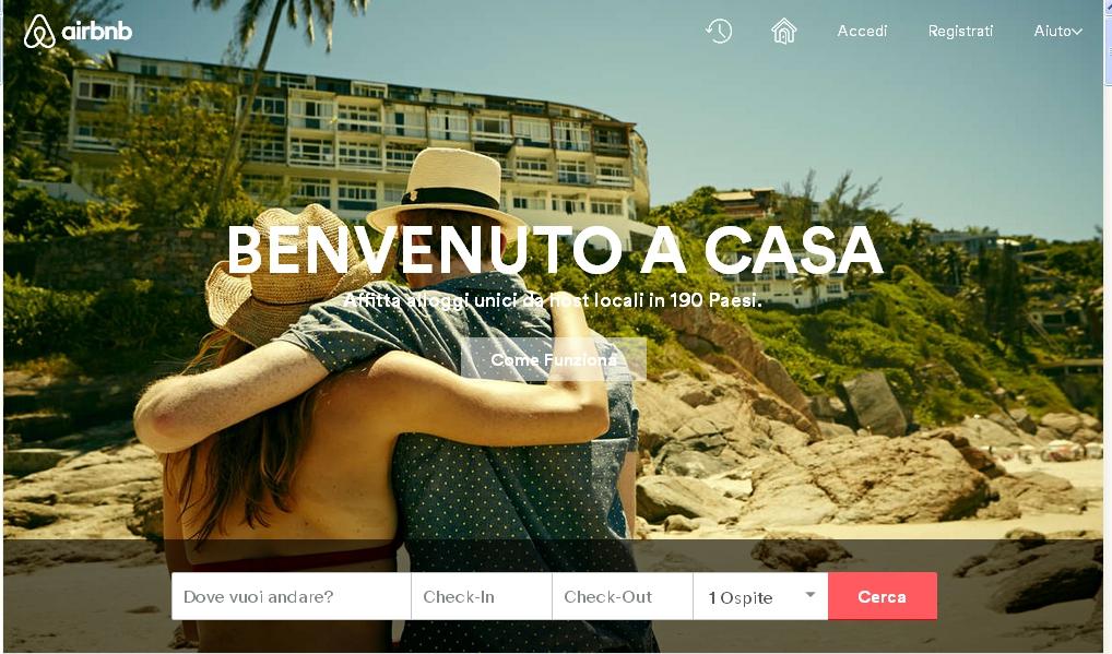 airbnb siti di viaggi