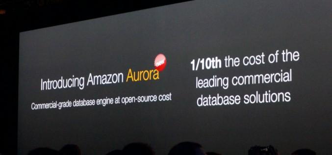 Amazon Web Services rende disponibile Amazon Aurora a tutti i clienti