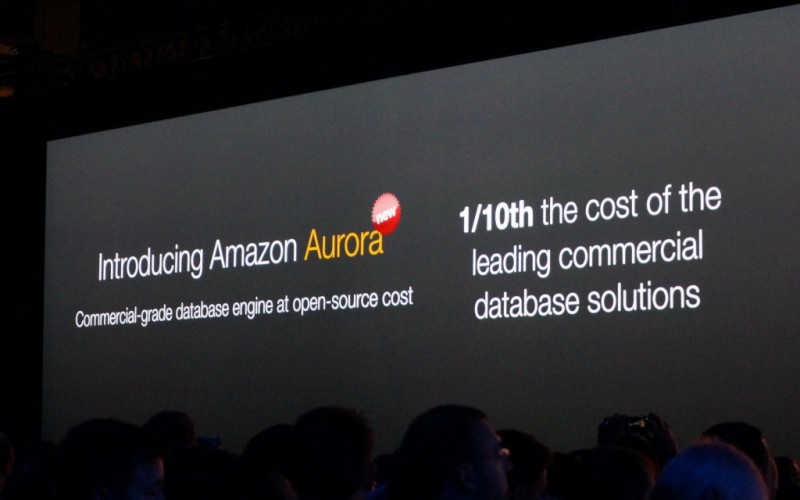 Amazon Web Services rende disponibile Amazon Aurora a tutti i clienti