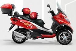 Enjoy lancia lo scooter sharing a Milano