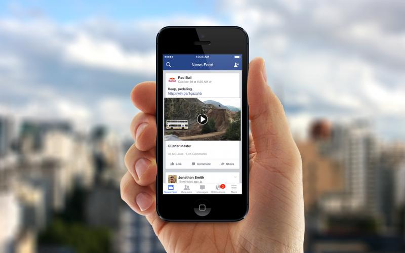 Facebook come YouTube, punta tutto sui video