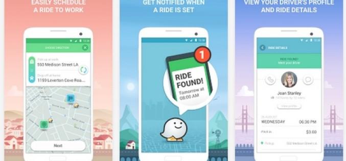 RideWith: Google testa il carpooling in Israele