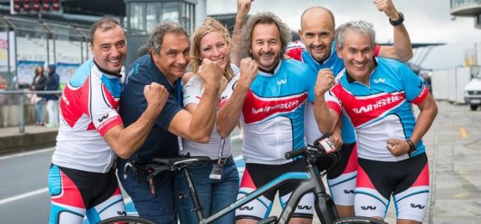 Il team Bosch sale sul podio all'evento Rad am Ring