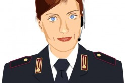Successo social per l'Agente Lisa della Polizia di Stato