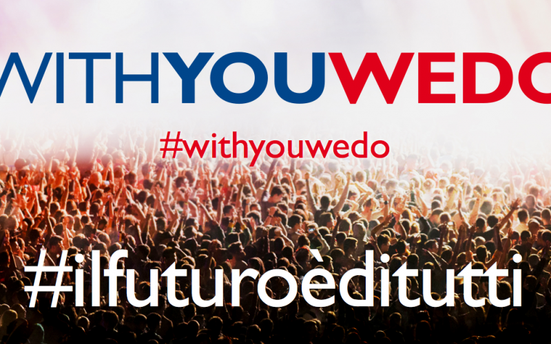 TIM: WithYouWeDo raggiunge 2,5 milioni di euro di raccolta fondi complessivi