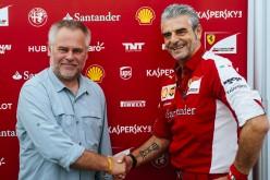 Kaspersky Lab rinnova la sponsorship con la Scuderia Ferrari per altri cinque anni