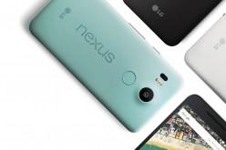 Nexus 5X disponibile da oggi
