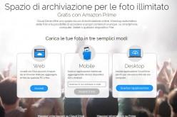 Amazon lancia Prime Foto, archivio fotografico illimitato e gratuito per gli iscritti ad Amazon Prime