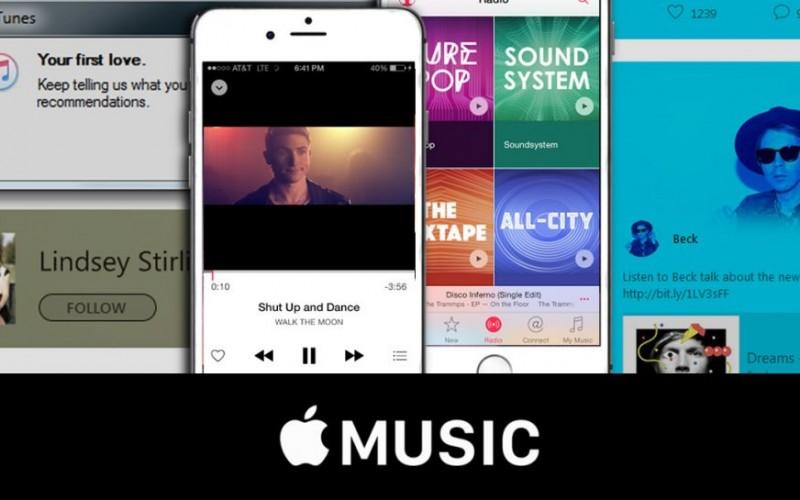 Apple Music raggiunge i 10 mln di utenti paganti