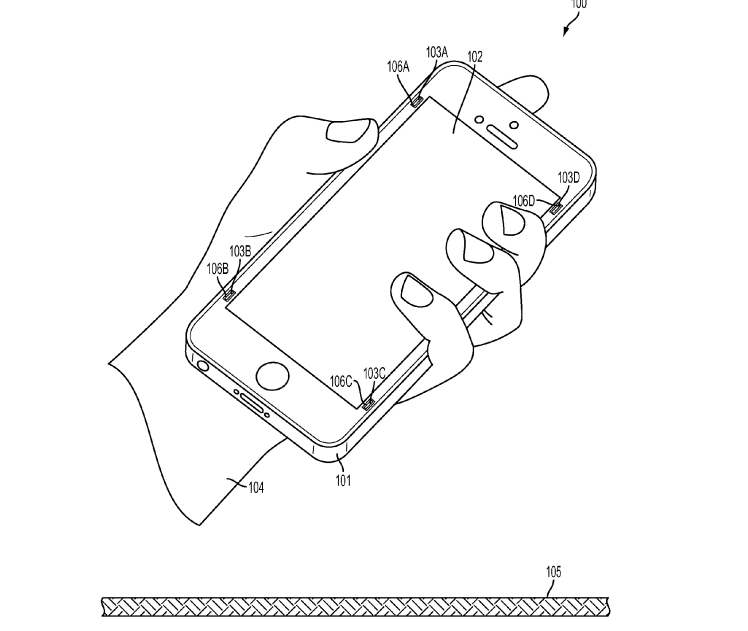 iphone apple ammortizzatori schermo