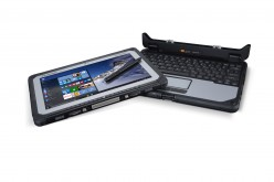 Panasonic presenta il primo business notebook detachable fully rugged
