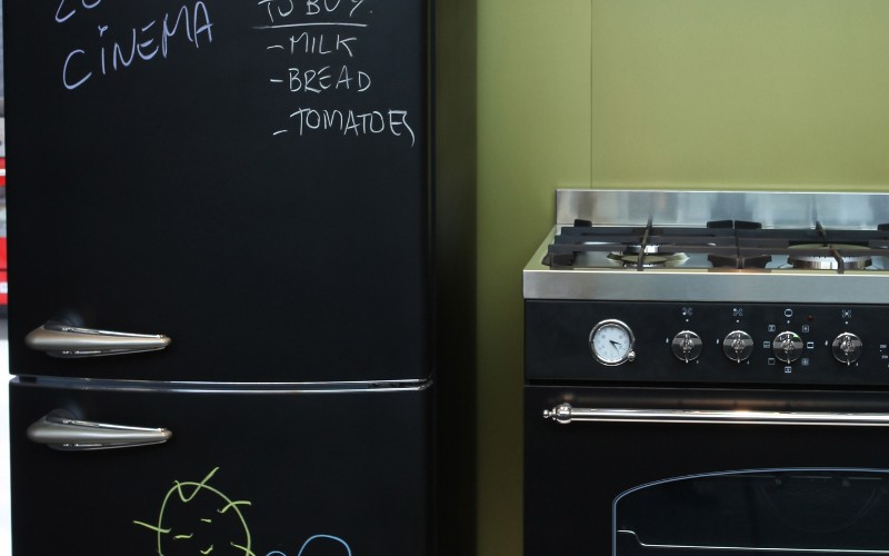 il frigorifero lavagna da bompani scrivimi un pezzo cult per personalizzare la cucina