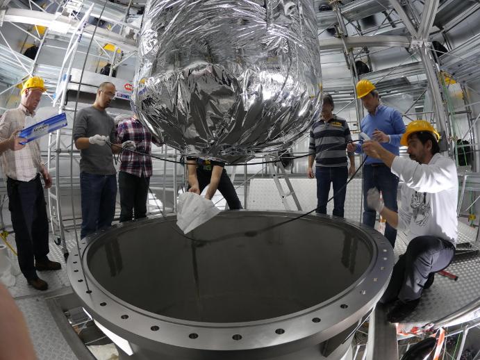 XENON1T materia oscura