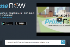 Amazon Prime Now: consegne in un'ora a Milano