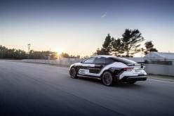 La Audi RS 7 piloted driving affronta la pista in Spagna