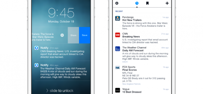 Facebook lancia Notify, guanto di sfida a Twitter e Apple