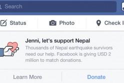 Su Facebook arriva il tasto dona per la beneficienza