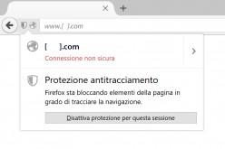 Firefox presenta la protezione antitracciamento