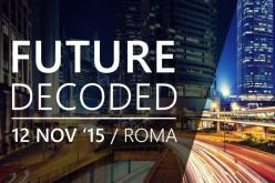 Al via il countdown per Future Decoded 2015
