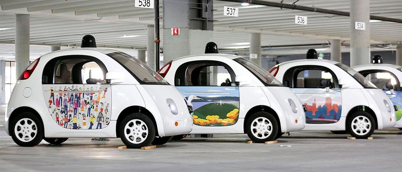 google car self driving car