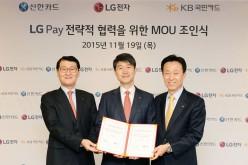 LG Pay lancia la sfida ad Apple Pay e Samsung Pay