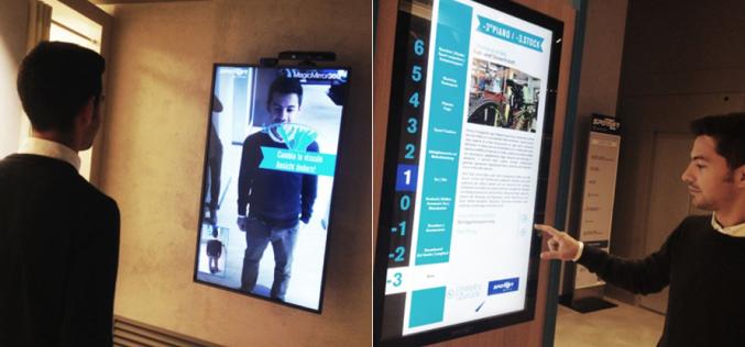 Shopping del futuro: vetrine interattive e specchi smart