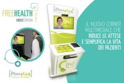 Phonetica annuncia FreeHealth, la prima videostation per il mercato healthcare